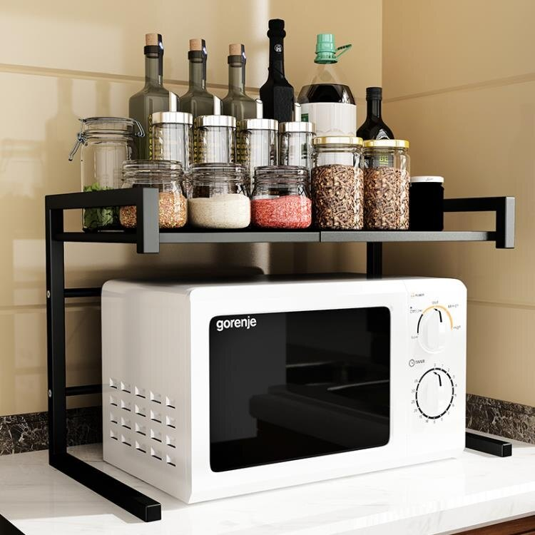 微波爐置物架 俞唐廚房置物架落地多層微波爐架家用省空間多功能儲物烤箱收納架 MKS宜品