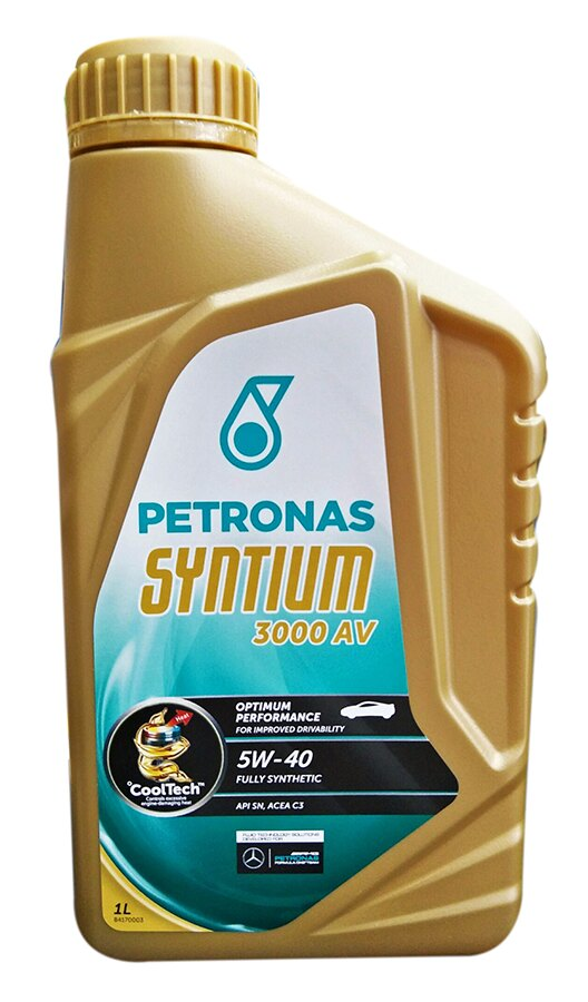 PETRONAS SYNTIUM 3000AV 5W-40全合成機油 #0019