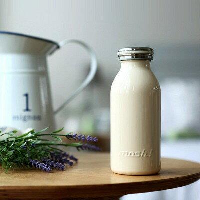 【日本mosh!】可可棕 牛奶系保溫瓶 (350ml)  免運特殺 2