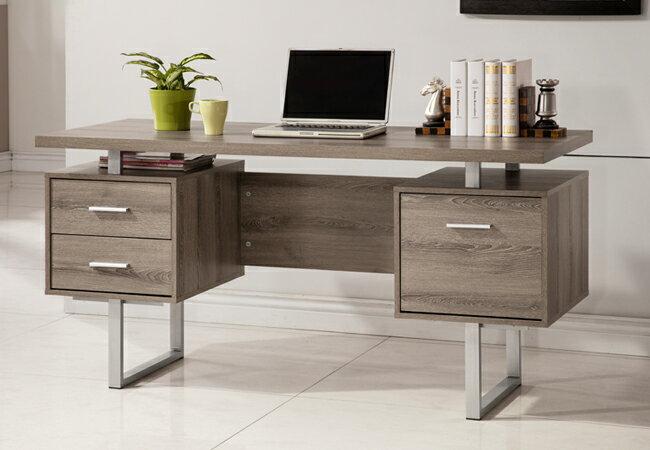 康迪仕五尺電腦書桌-深木色 / 書桌 / 電腦桌 & & DIY產品