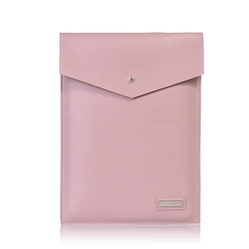 手拿包皮革電腦包-純色簡約信封包商務男女包包3色73vy40【獨家進口】【米蘭精品】 0