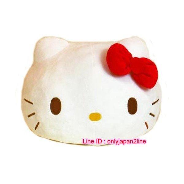【真愛日本】16110900010軟棉柔包子麵團抱枕-KT紅結   三麗鷗 Hello Kitty 凱蒂貓  抱枕  娃娃  擺飾