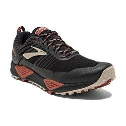 BROOKS 18FW 防水 男越野鞋 CASCADIA 13 GTX系列 D楦 1102841D037 贈腿套【樂買網】