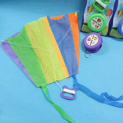 攜帶型 輕巧摺疊式口袋風箏 掌中風箏/一袋5個入{促90}~田1458