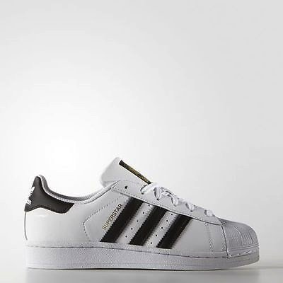 SneakersLife:ADIDASORIGINALSSUPERSTAR白黑金標大童鞋US4~7C77154D