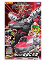 變形金剛人物模型推薦到(戰神本舖  正版現貨)Takara Tomy 新幹線變形機器人 E6 小町號 電車 變形金剛 機器人就在卡司玩具推薦變形金剛人物模型