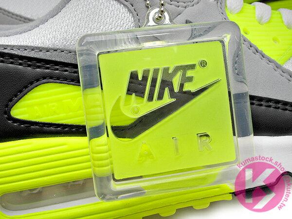 2020 經典復刻慢跑鞋 OG 版型 NIKE AIR MAX 90 白灰黑 螢光黃 網布 絨毛面 大氣墊 慢跑鞋 (CD0881-103) 0120 4