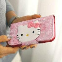 凱蒂貓週邊商品推薦到韓國原裝 iPhone 6 I6 PLUS Note3 Note4 KT貓 KITTY 支架皮套 側翻皮套