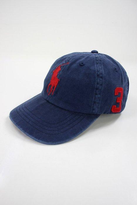 美國百分百【全新真品】Ralph Lauren 帽子 RL 配件 棒球帽 Polo 大馬 深藍 男帽 遮陽帽 C482