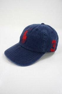 美國百分百【全新真品】RalphLauren帽子RL配件棒球帽Polo大馬深藍男帽遮陽帽C482