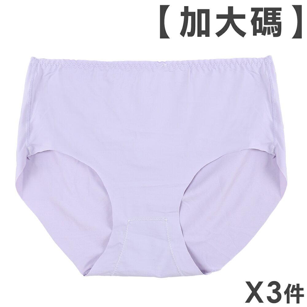 3件199免運【夢蒂兒】馬卡龍無痕中腰三角褲 3件組(隨機色) 0