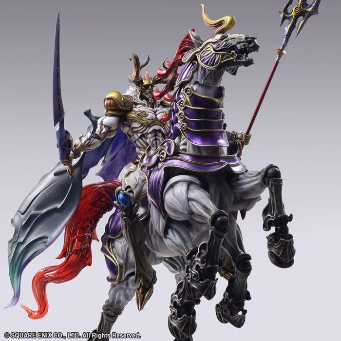 ◆時光殺手玩具館◆ 已結束預購 預定到貨日2018年8月 公仔 SQUARE ENIX Final Fantasy Creatures BRING ARTS 太空戰士 召喚獸 奧丁 (107/4/18..