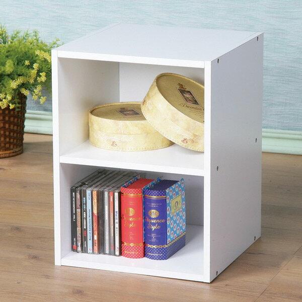 收納櫃 置物櫃 空櫃 小書櫃 櫃子 文件櫃《Yostyle》現代風二格小空櫃