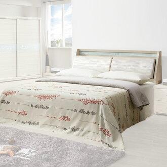 床組 雙人床組 床台 房間組 臥室《Yostyle》伊布床台組-雙人加大6尺