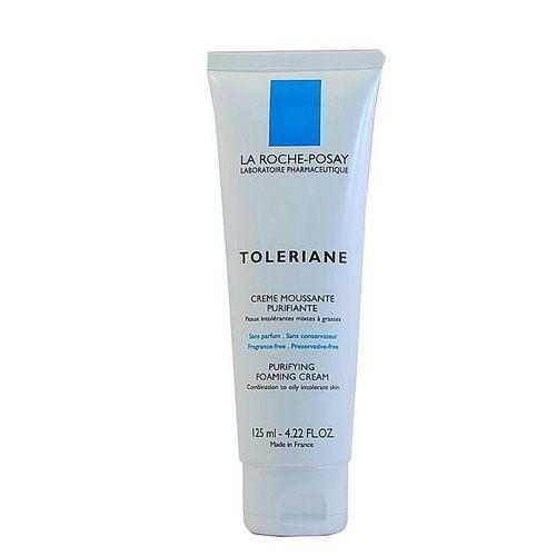 理膚寶水多容安泡沫洗面乳125ml加贈黑人專業護齦抗敏感牙膏120g