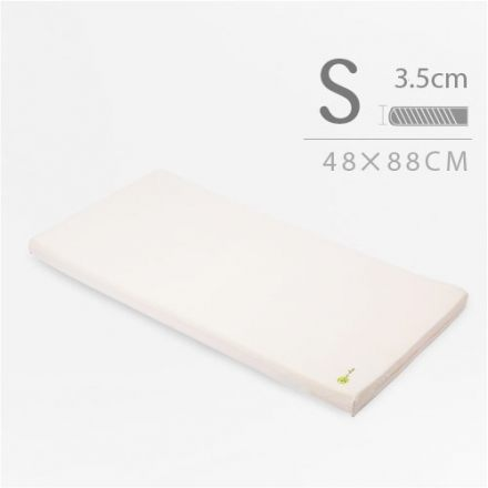 媽咪小站 有機棉系列 嬰兒護脊床墊 3.5cm (S) 48 × 88 cm