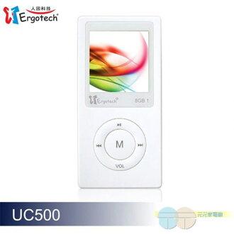 人因科技 MP3 MP4多媒體影音播放器 8G UC500