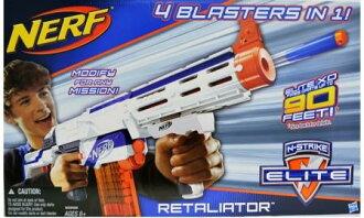 玩具反斗城 【NERF衝鋒隊戰】 復仇者四合一衝鋒槍