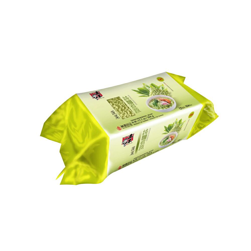 五木 純麵煮意-菠菜504g(12入)/箱 【康鄰超市】