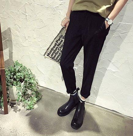 韓國 正品 橡皮筋 西裝褲 彈性 西裝褲 好版型 3D褲 老爺褲