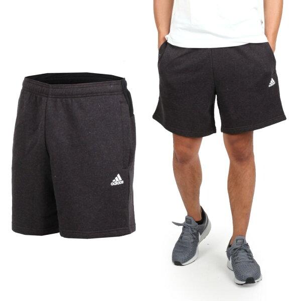 ADIDAS男運動短褲(五分褲慢跑訓練路跑愛迪達【04351477】≡排汗專家≡