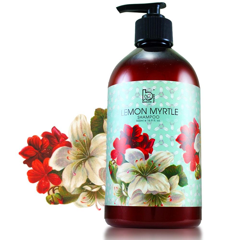 【Bonnie House】檸檬香桃木頭皮淨化控油洗髮精500ml
