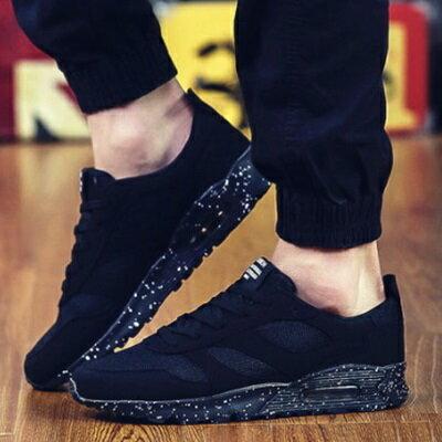 鞋情侶慢跑鞋~舒適緩震氣墊透氣 男女鞋子7色73ev12~ ~~米蘭 ~