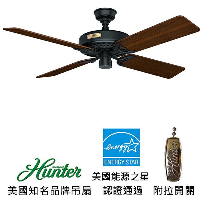 <br/><br/>  [top fan] Hunter Hunter Original 52英吋能源之星認證吊扇(23838)黑色<br/><br/>