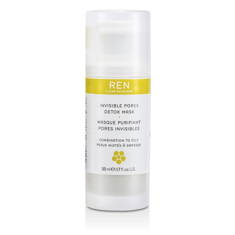 任 Ren - 細緻毛孔面膜Invisible Pores Detox Mask( 混合至油性肌膚 )