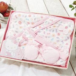 【麗嬰房】Hello Kitty 凱蒂貓包巾禮盒組