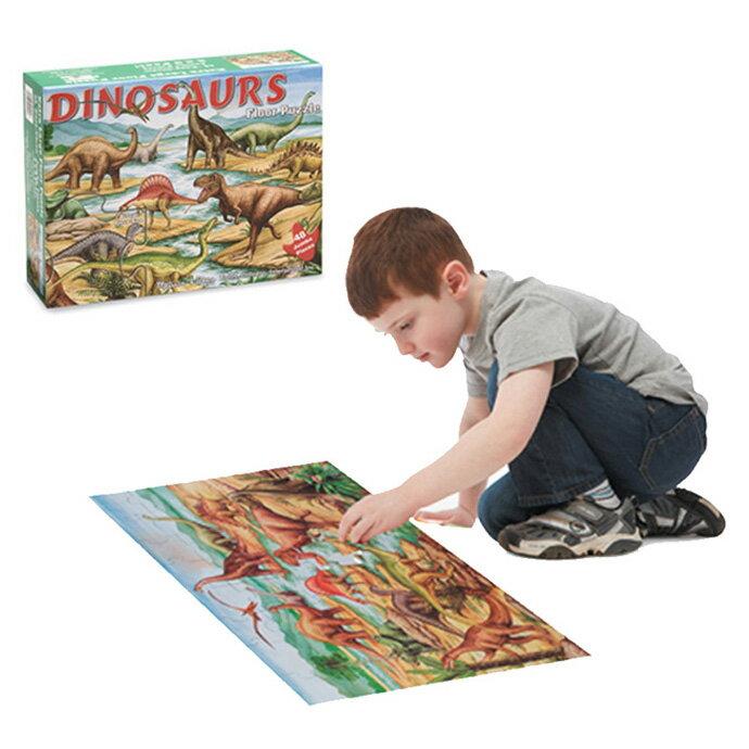 【華森葳兒童教玩具】科學教具系列-地板拼圖-恐龍 N7-421