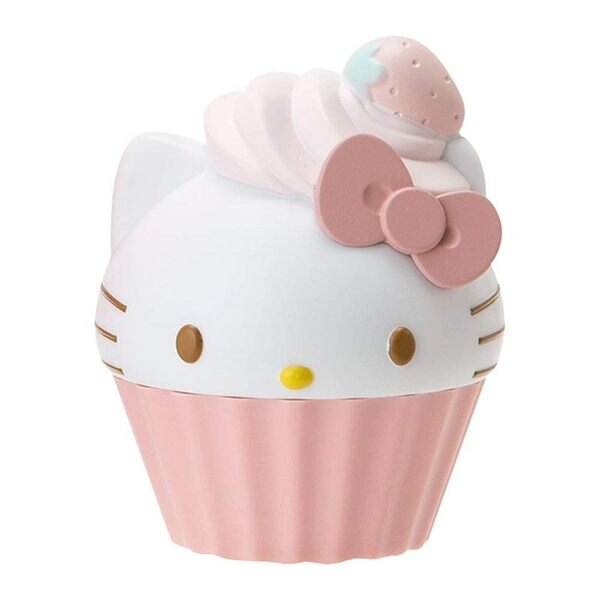 凱蒂貓 護唇膏 圓形 三麗鷗 Kitty 日本正版 該該貝比日本精品 ☆