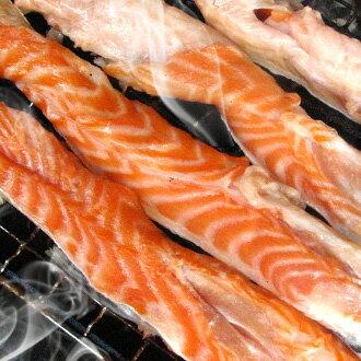 任選【台北濱江】爸爸最愛下酒菜!!鮮凍鮭魚肚條肉(300g份x2)