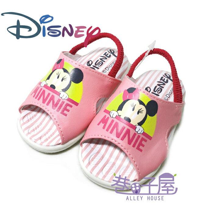 迪士尼DISNEY 童款米妮啾啾鞋 學步鞋 涼鞋 [119343] 粉 MIT台灣製造【巷子屋】
