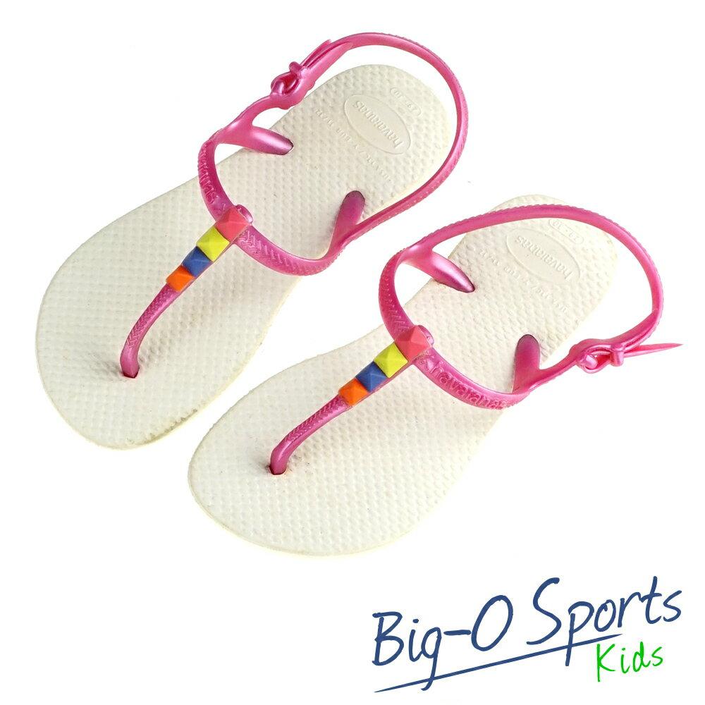 Havaianas 哈瓦仕  巴西拖 沙灘拖鞋 童 HF4K3502W1 Big~O SP