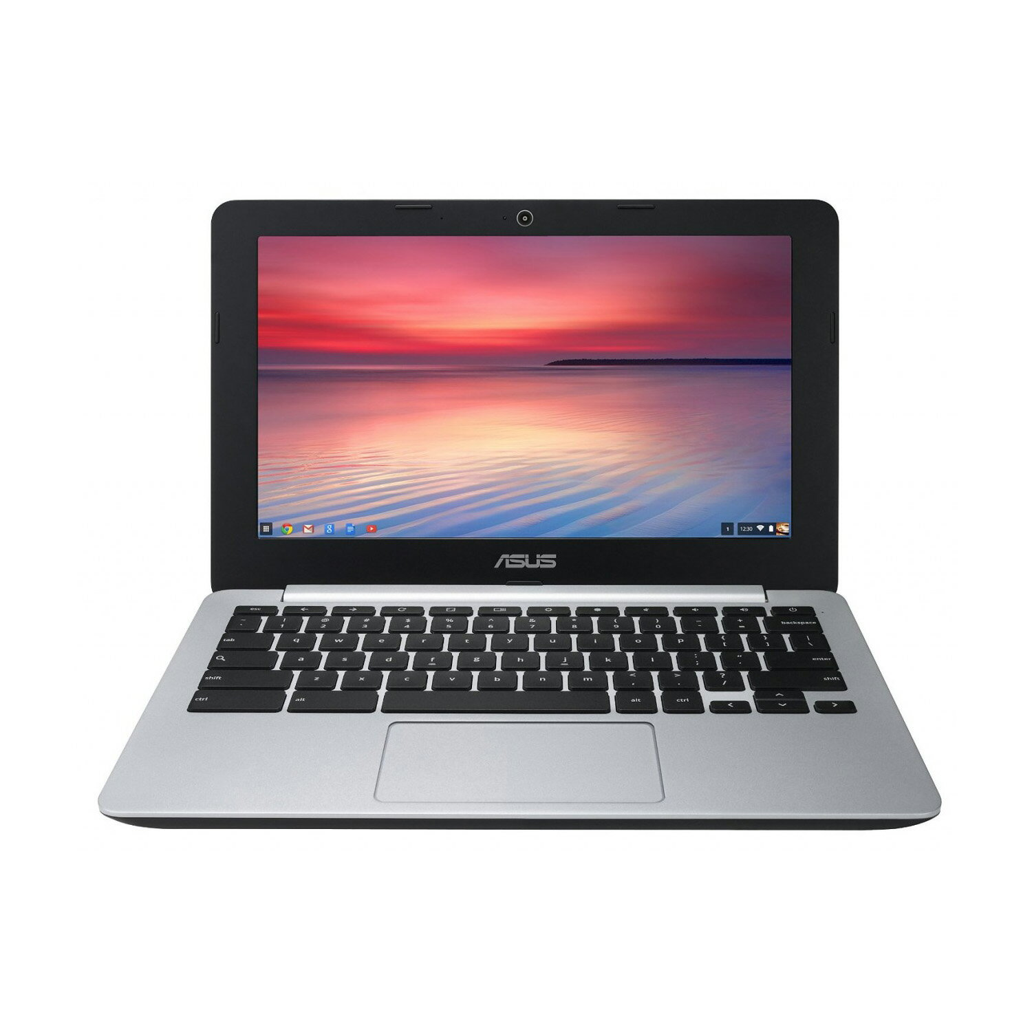 "Asus C200MA-DS01 11.6"" Chromebook Celeron N2830 Dual-Core 2.16GHz 2GB 16GB SSD 0"