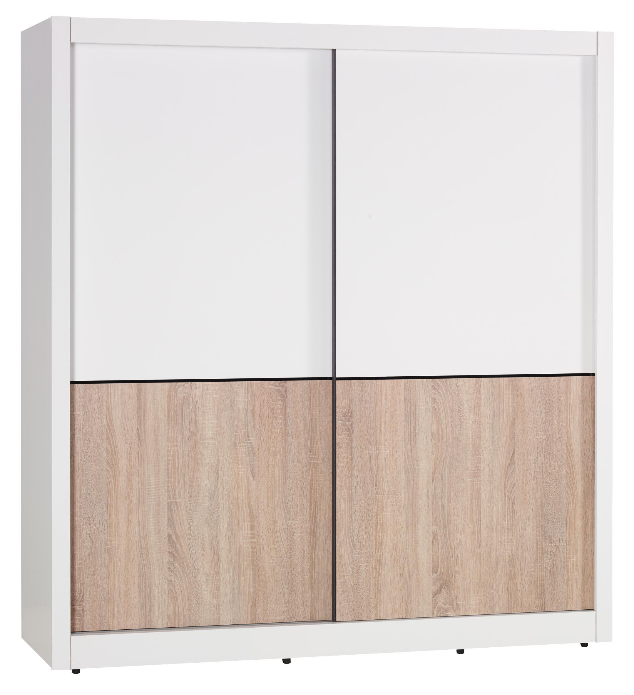 【簡單家具】,S22-1 小北歐6尺推門衣櫥/推門衣櫃,大台北都會區免運費!