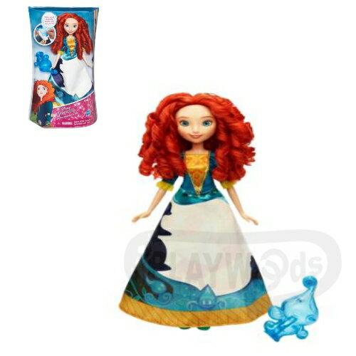 【Playwoods】[迪士尼公主Disney]裙裝遊戲組:勇敢傳說 梅莉達Merida(DISNEY/Brave/孩之寶/娃娃Doll/童話/皮克斯)