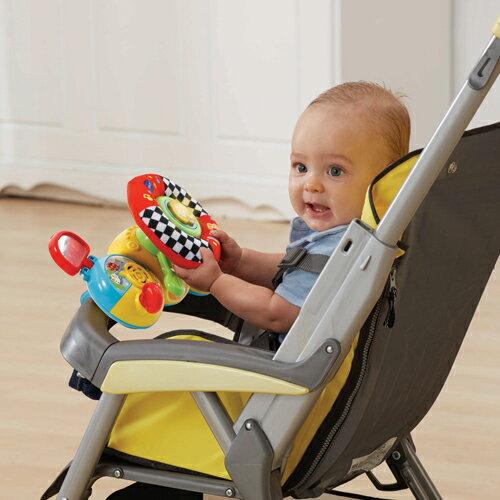 美國【Vtech】寶寶帥氣方向盤