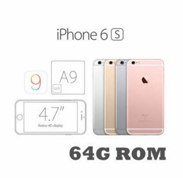~贈保護殼 玻璃貼~APPLE 蘋果 6S 4.7吋 64G Apple I Phone