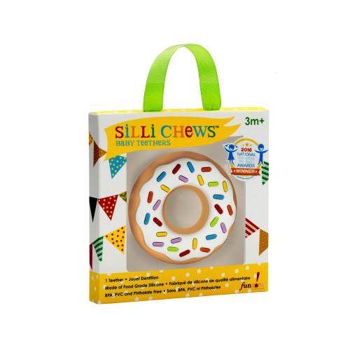 美馨兒:*美馨兒*美國SilliChews香草甜甜圈咬牙器(固齒器)(SC-6)299元