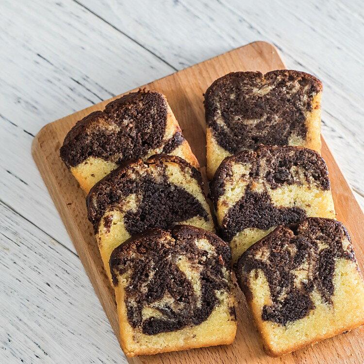蘭姆可可磅蛋糕禮盒(10入/盒) 精緻而典雅,輕鬆小點,送禮必備 | 呈現最自然原味的甜點, 純手工製作就在【MINI SNOW香草屋】