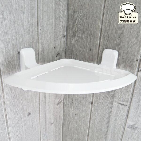 3M無痕浴室三角置物架浴室角落收納架免鑽牆不殘膠-大廚師百貨