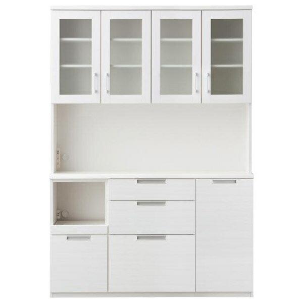 ◎(OUTLET)櫥櫃 DAHLIA 140KB WH 福利品 NITORI宜得利家居 2