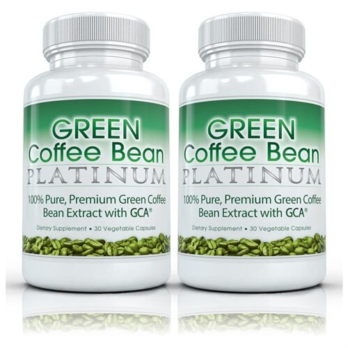 Green Coffee Bean Platinum 2 Bottles Pure Green Coffee Extract