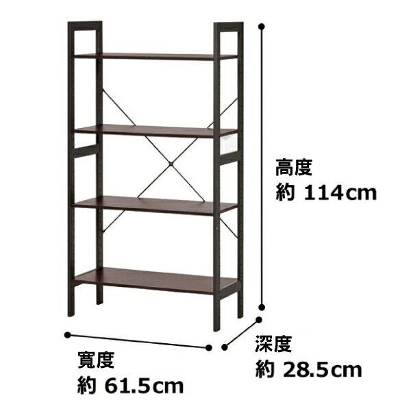 ★【DIY】置物架 ADVANCE 62 DBR NITORI宜得利家居 3
