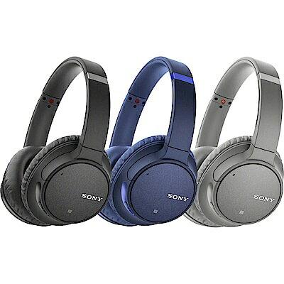 [富廉網] 【SONY】無線藍牙降噪耳罩式耳機 WH-CH700N 黑/藍/灰