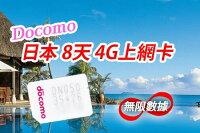 日本上網推薦sim卡吃到飽/wifi機網路吃到飽,日本上網sim卡吃到飽推薦到3/20~4/30--日本DoCoMo 上網Sim卡 網卡 8天吃到飽 免登記 免簽約 免歸還 附卡匣