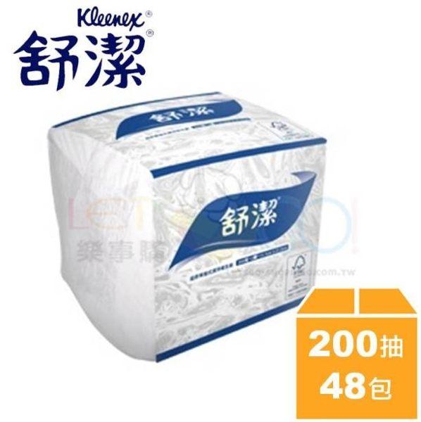 舒潔單抽式潔淨衛生紙200抽/48包