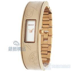 【錶飾精品】DKNY手錶/DKNY錶NY8294 細緻優雅DKNY logo玫瑰金錶帶/手環女錶 全新原廠正品